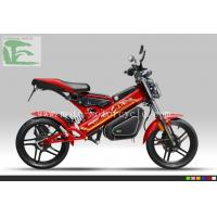 Cheap 48V Red Folding bicycles EEC LS-A1 Li-ion Folding bicycles Electric Moped Scooter wholesale