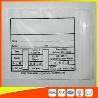 Cheap Custom Printed Plastic Medical Ziplock Bags Reclosable Waterproof Non Poisonous wholesale