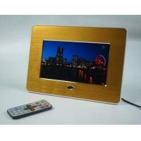 "Quality Advertising 7"" Metal Brushed POP LCD Display Screen With Video Loop Play for sale"