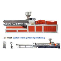 Cheap Electrical Control  PP ABS Double Screw Extruder Water Strand Pelletizing Line wholesale
