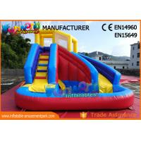 Cheap Commercial Grade Backyard Inflatable Water Slide Bounce House For Children wholesale