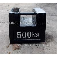 Cheap 500Kg High Denominational Cast Iron Rectangular Suitable For Lifting&Stacking Test Weight wholesale