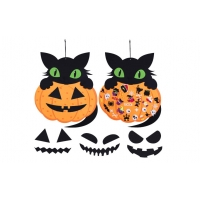 Cheap 2.65ft Felt Halloween Ornaments Home Decoration With 48pcs wholesale