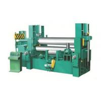 Hydraulic Thick Plate Rolling Machine 3200mm Width Universal Mc Drum Type Upper Roller