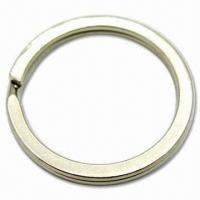 Cheap H-903 Keyrings, Flat Split Ring wholesale