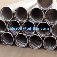 Cheap BJF continuous slot wedge wire screen water well screen wholesale