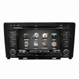full function 1din 12v car dvd player 8 port wall mounted fiber