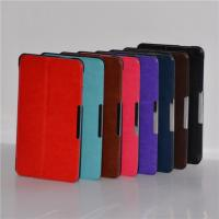 Cheap Magnetic Colorful Slim Smart Asus Tablet Leather Case With Built-in Stand wholesale