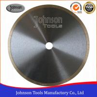 """Cheap 12"""" tiles cutting blade continuous rim blade, 2.2mm thickness, For Wet Cutting Hs Code 82023910 wholesale"""