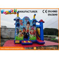 Cheap Commercial Jumping Castle Inflatable Bouncer Slide / Paw Patrol Bounce House wholesale