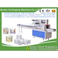 Quality Updated kicthen towel toilet paper roll packing sealing machine,toilet tissue roll production line china Bestar supplier for sale