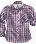 Cheap Personalized Breathable kids cotton plaid shirt, navy plaid shirt, kids summer clothes wholesale