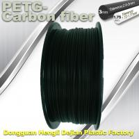 Cheap High Strength Filament 3D Printer Filament 1.75mm PETG - Carbon Fiber Black Filament wholesale