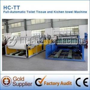 Cheap Automatic Toilet Tissue Paper Making Machine wholesale