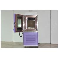 Cheap Medical Temperature Humidity Climatic Programmable Test Chamber Internal 225L wholesale