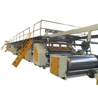 Buy cheap 3 Ply 5 Ply Corrugated Cardboard Production Line Long Lifespan 90-130kw from wholesalers