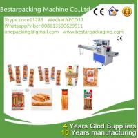 Buy cheap Flow pack machine for bread sticks,breadsticks,Lance Bread Sticks packing from wholesalers