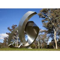 Cheap Garden Large Modern Abstract Stainless Steel Decorative Sculpture wholesale
