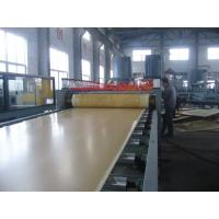 China Waterpoof PVC Crust Foam Board Extrusion Line , WPC Plate Machine on sale