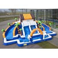 Cheap Commerial Outdoor Inflatable Water Slides Waterproof For school wholesale