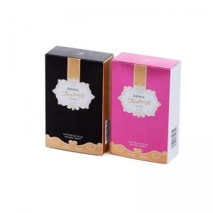 Cheap Recyclable Paper Custom Printing Perfume Bottles Packaging Paper Box BB Cream Box for Cosmetic Product wholesale
