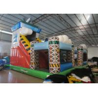 Cheap Colorful spaceship inflatable fun city / inflatable amusement park for sale wholesale