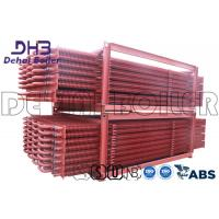 Cheap Industrial Biomass Boiler Finned Tube Economizer Painted Anti Corrosion wholesale