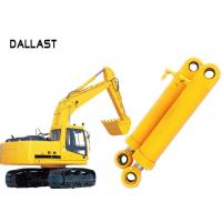 Cheap Heavy Duty High Pressure Hydraulic Cylinder Dual Stage For Industrial Crane Excavator wholesale