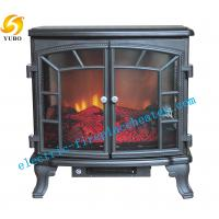 Cheap European Pleasant Hearth 3D Flame Electric Fireplace Stove Heater 50Hz / 60Hz wholesale