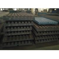 Cheap Movable Jaw Crusher Jaw Plate  High Capacity Consumable Replacement wholesale