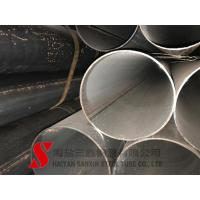 Cheap Cold Finished Welded Steel Pipe , Scaffolding Steel Pipe ASTM / DIN Standard wholesale