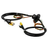 Cheap Compact-designed Slip Ring Transmitting Electricity and Ethernet Signal with Engineering Plastic Housing wholesale