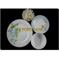 Cheap 12 Piece Blue Spotted Round Ceramic Tableware Set  UK Market Passed Pb And Cd Test wholesale