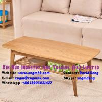 China Solid wood coffee table simple oak small coffee table Living Room Furniture on sale