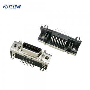 Cheap 20pin SCSI R/A Female Servo Connector, Mini D Ribbon MDR Connector wholesale