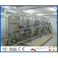 Cheap 2000L/H ISO standard SUS304 UHT long shelf life pure milk production line for aseptic carton box with PLC control wholesale