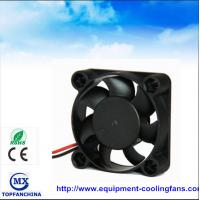 Cheap Portable plastic small cooling fan , dc axial compact fan 40mm x 40mm x 15mm wholesale