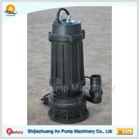 Cheap cast iron submersible sewage pump with cutter wholesale