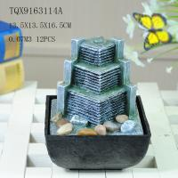 Cheap Small Artificial Hill Polyresin Water Fountain For Indoor Desk Decoration for sale