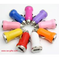 Cheap Promotion Bullet Mini USB Car Charger Universal Adapter for iphone 5S 6 6S Plus Samsung wholesale