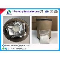 Cheap 17- Methyltestosterone Anabolic Muscle Growth Steroid Powder CAS 58-18-4 wholesale