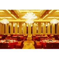 Cheap Leather Acoustic Panel Finished Movable Folding Wooden Partition Walls for Hotel wholesale