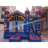 Cheap Waterproof Commercial Inflatable Bouncer Slide For Kids With PVC Tarpaulin wholesale
