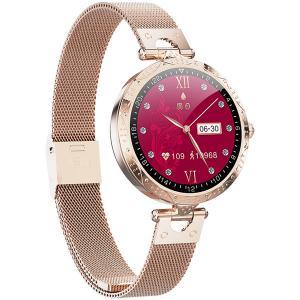 China Sleep Heart Rate Blood Pressure IP67 Waterproof Female Cycle Pedometer Smart Watch For Ladies on sale