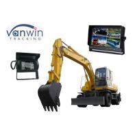 Cheap 10.1 Inch TFT LCD backup camera monitor with 4 Cameras inputs, 1024 x 600 Resolution wholesale