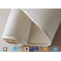 Cheap Asbestos free Satin Weave Silica Fabric Thermal Insulation 37oz High Silica Cloth wholesale