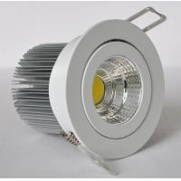 Cheap 12W Dimmable LED Downlights IP44 Pure White For Conference / Meeting Rooms wholesale
