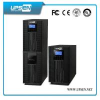 Cheap Parallel Function Uninterrupted Power Supply , High Frequency Online UPS LCD Display wholesale
