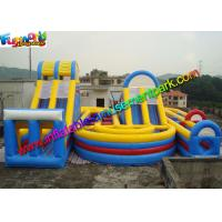 Cheap Popular Sport Inflatables Obstacle Course , inflatable assault course With Playground wholesale