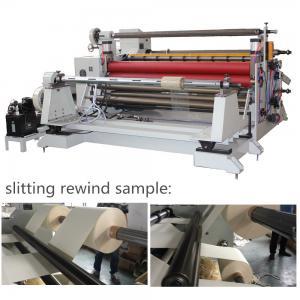 Cheap 1600mm roll diameter 600mm face mask machine rewinding diameter Meltblown cloth Slitting rewinder wholesale